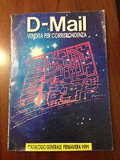 D15  Catalogo D-Mail vendida per corrispondenza - 1991
