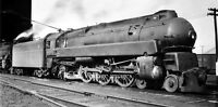 Pennsylvania Railroad  photo  Bullet train Steam Locomotive 1120 K4 4-6-2 1940s
