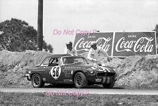 Scott & housier & Lanier MGB sebring 12 H 1970 Photographie 1