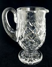 "Waterford POWERSCOURT Footed Pitcher, 7 1/4"", 28 Ounce, EUC"