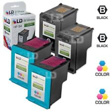 LD Remanufactured Replacements for HP 94 & 95 Ink Cartridges: 2 Black & 2 Color