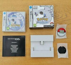 Nintnedo DS Pokemon Soul Silver SoulSilver Ltd. Edition Big Box With Pokewalker