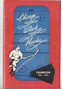 1964-65 Chicago Blackhawks Hockey Media Guide, Bobby Hull, Stan Mikita