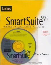 Lotus SmartSuite 97 WordPro + 123 + Approach 96 Ver 5.0