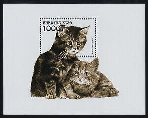 Burkina Faso 1142-5 MNH Cats, Dogs