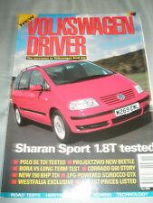 Volkswagen Driver Nov 2000 VW Sharan Sport 1.8T, Polo SE TDi