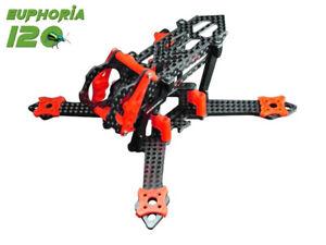 EUPHORIA 120 Racing Frame Kit (RED) - BLADE Torrent 110 FPV