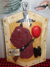 RARE 1963 VTG.NEW in PAK~Barbie KEN DOLL OUTFIT~HUNTING SHIRT~MOC~Sealed PAK SET