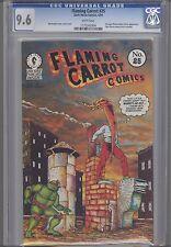 Flaming Carrot # 25 CGC 9.6 with Teenage Mutant Ninja Turtles: Dark Horse