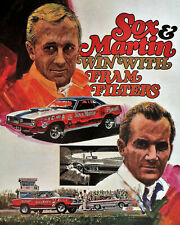 """Sox & Martin Win With Fram Filters 11""""x14"""" Photo Poster Plymouth"""