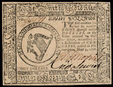 Continental Currency. May 9, 1776. Eight Dollars PCGS Choice About New-55 Lot 88
