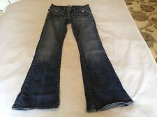 WOMENS ROCK AND REPUBLIC ROTH SCORPION JEANS SIZE 24 RN110113 CA41387