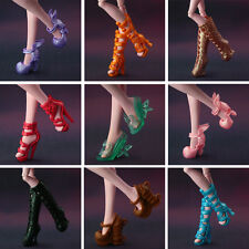 5 pairs / lot New Fashion Shoes for Monster High Doll High quality long boots