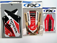 Factory Effex EVO 14 Graphics Fenders Forks CR 125 CR125 98 99 Shrouds Swingarms