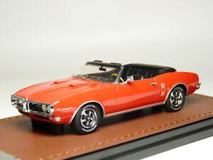 GLM 191001 1/43 1968 Pontiac Firebird 400 Convertible Resin Model Car