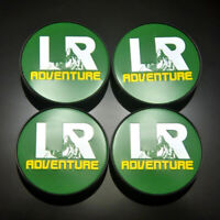4x 62mm LR ADVENTURE Nabendeckel Felgendeckel für Land Rover