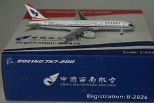 NG Models 53015 Boeing 757-2Y0 (Pcf) Chine Southwest Airlines B-2826 En 1:400