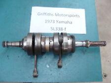 73 yamaha sl338f 338 sl EL? gp? 72? 74? D F crank shaft crankshaft