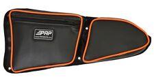 PRP Seats Polaris RZR XP 1000 S 900 Door Bag Knee Pad, ORANGE Piping RIGHT Side
