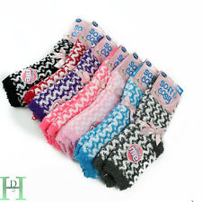 New 5 Pairs Soft & Cosy Feather Fluffy Ladies Lounge Extra Warm Bed Socks UK 4-8