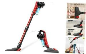 Vacuum Cleaner Corded 17000PA 3 in 1 Stick Vacuum Cleaner with HEPA Filter Red