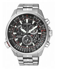 WATCH CITIZEN RADIO CONTROLLED CHRONOGRAPH PILOT BY0120-54E