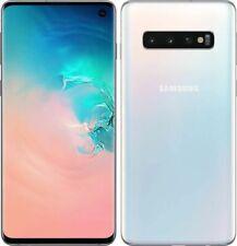 SAMSUNG Galaxy S10 128Go Blanc Prisme Reconditionné Parfait état (Double SIM)