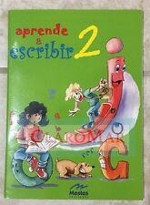 ☀ Aprende a Escribir 2 Paperback Workbook Learn to Write in Spanish