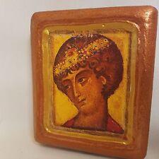 Saint George Byzantine Eastern Orthodox Icon OOAK