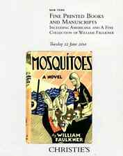 CHRISTIE'S FINE PRINTED BOOKS & MANUSCRIPTS: WILLIAM FAULKNER COLLECTION