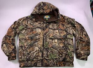 Cabela's Silent Dry Plus Seclusion 3D GoreTex Jacket Coat Parka 2XL XXL Camo