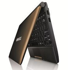 "CHEAP Toshiba NB500 10.1"" Intel Atom 2 GB RAM 120 GB HDD Win7 Webcam WIFI Brown"