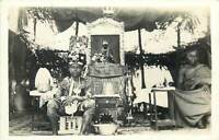 Genuine photo postcard Africa Gold Coast GHANA 1945 young royalty