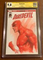 Daredevil 595✳️Blank Variant✳️CGC SS 9.8✳️Signed Cox Original Art Parrillo