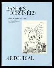 Katalog Verkauf den Auktion Streifen Comic Artcurial Franquin/Druillet 2017