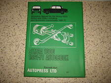Autopress/autobook-Manuale di Officina-Kenneth Ball-SIMCA 1000 (1961-71)