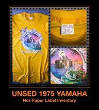 UNUSED 1975 Yamaha GUITAR AMPLIFIER electric Rock Fender motorcycle vtg T-Shirt