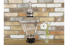 60cm Stainless Vintage Victorian Garden Street Post Lantern Lamp Top Glass Light