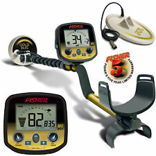 "Fisher Gold Bug Pro Metal Detector with 5"" & 10"" Coil Pack and 5 Year Warranty"