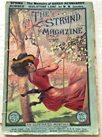 May 1904 The Strand Magazine SARAH BERNHARDT H.G. Wells COMICS/CARTOONS Bike Ad