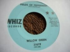 "WILLOW GREEN ""FIELDS OF PEPPERMINT"" 7' 45 PSYCH ROCK WHIZ LABEL MINT"