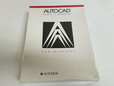 New Old Stock! AutoCAD R11 Extension For Windows Dos 386 1.44MB ~ Sealed Box!