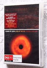 KINGS OF LEON- LIVE AT THE O2 LONDON, ENGLAND (DVD) R-1, LIKE NEW, FREE POSTAGE