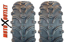 25x10x12 KENDA K299 Bear Claw Pair 25x10-12 Set of 2 ATV Tires New