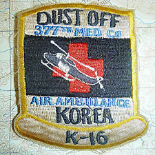The Original Dustoff - Patch - US ARMY 377th MEDICAL COMPANY - Korean War - 5687