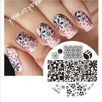 Nail Art Stamping Schablonen Stempel Template Stamp Image Plate BORN PRETTY BP20