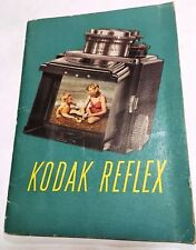Kodak Reflex 2-1/4 x 2-1/4 Camera Owners Instruction Manual -Kodak