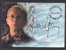 Buffy Tvs - Sea 5 - Joel Grey As Doc Autograph Card - NrMt