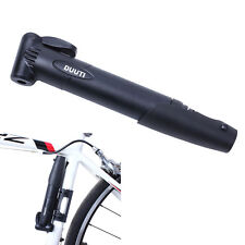 Mini Portable Bicycle Cycling Bike Air Pump Tyre Tire Inflator Inflating Black