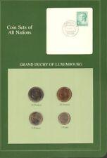 Offizielle Euro-Kursmünzensätze aus Luxemburg